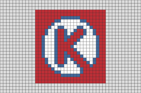 Circle K Pixel Art