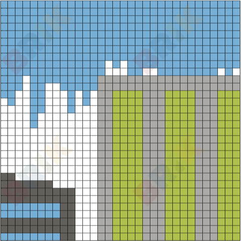 City 2 Pixel Art