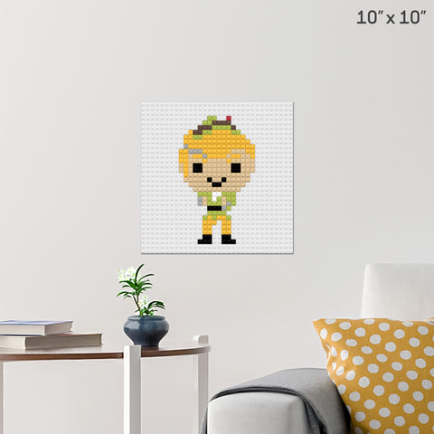 Codename ELF Brick Poster