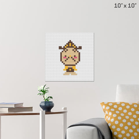 Cogsworth Brick Poster