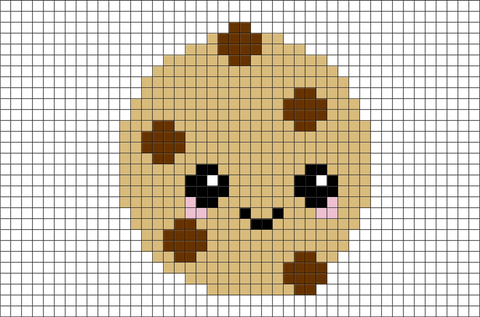 Cookie Pixel Art
