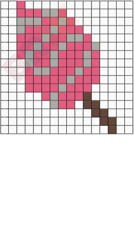 Cotton Candy Pixel Art