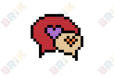 Creative Romance Month Pixel Art