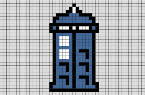 Doctor Who Pixel Art
