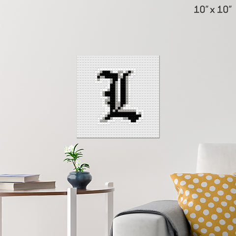 Death Note Brick Poster