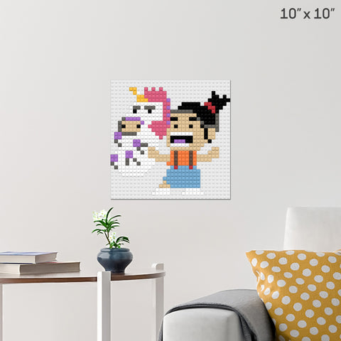 Despicable Me Agnes Brick Poster