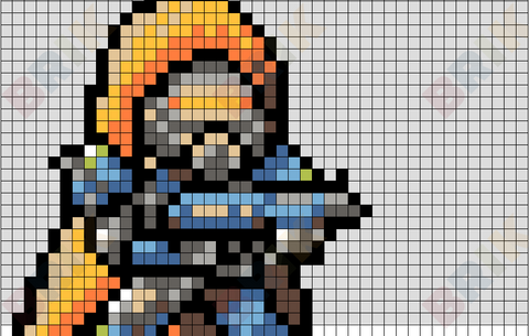 Destiny 16-Bit Hunter