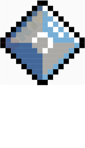 Diamond Pixel Art
