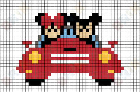 Disney Bound Pixel Art