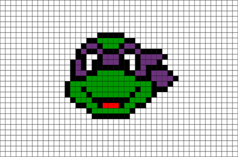 Donatello Pixel Art