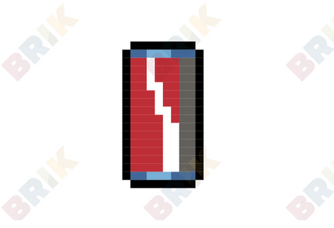 Drink Can Pixel Art