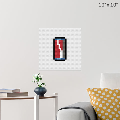 Drink Can Brick Poster