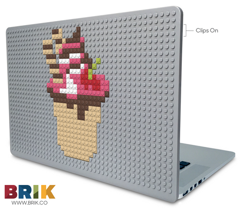 Eat Ice Cream for Breakfast Day Laptop Case