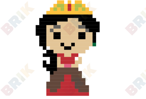 Elena of Avalor Pixel Art