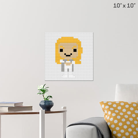 Emma Frost Brick Poster