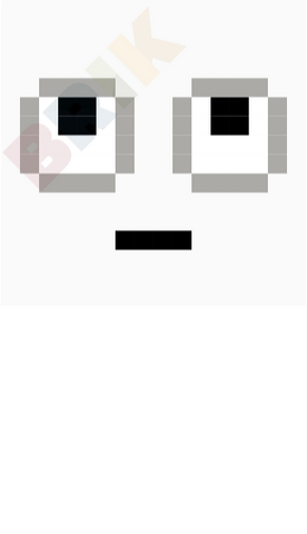 Eye Roll Pixel Art
