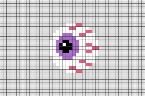 Eyeball Pixel Art