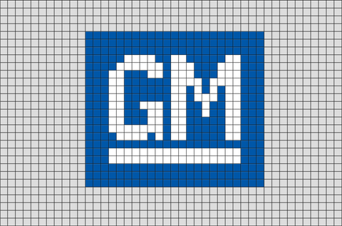 General Motors Pixel Art