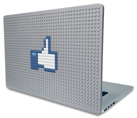 Facebook Like Button Laptop Case