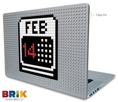 February 14 Laptop Case