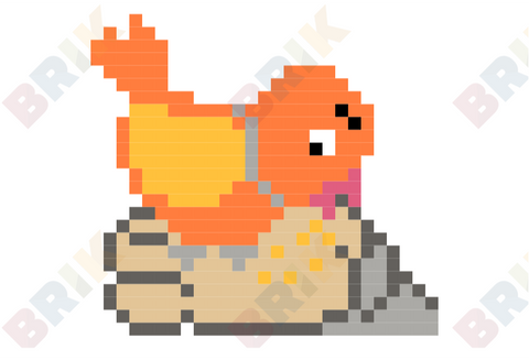 Feed the Birds Day Pixel Art