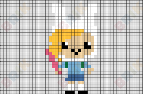 Fionna the Human Pixel Art