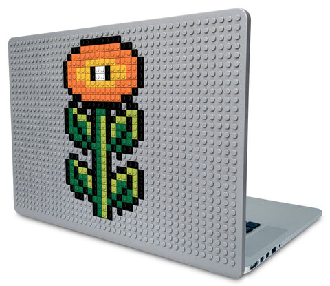 Fire Flower Mario Laptop Case