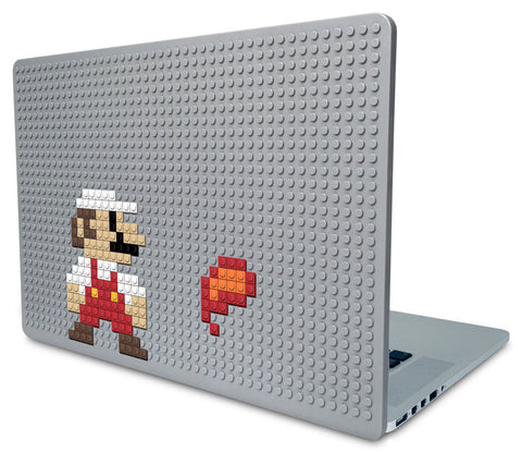 Fireball Mario Laptop Case