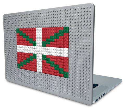 Flag of Basque Country Laptop Case