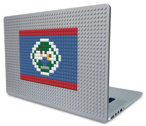 Flag of Belize Laptop Case