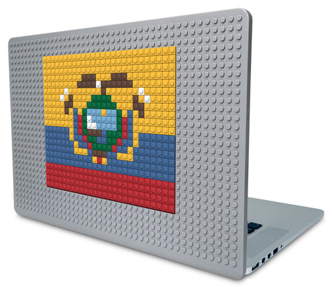 Flag of Ecuador Laptop Case