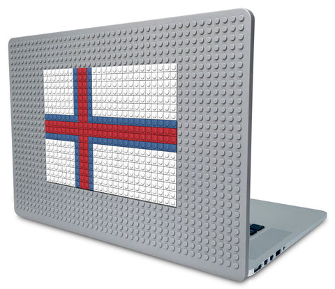 Flag of Faroes Laptop Case