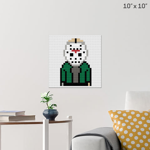Friday the 13th Jason Brick Poster