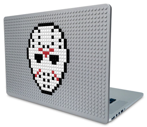 Friday the 13th Mask Laptop Case