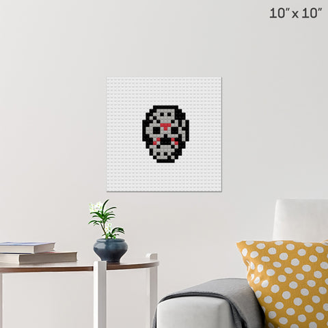 Friday the 13th Brick Poster