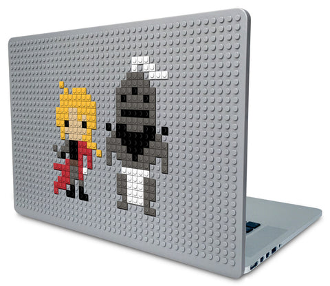 Full Metal Alchemist Elric Brothers Laptop Case