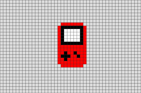 Game Boy Pixel Art