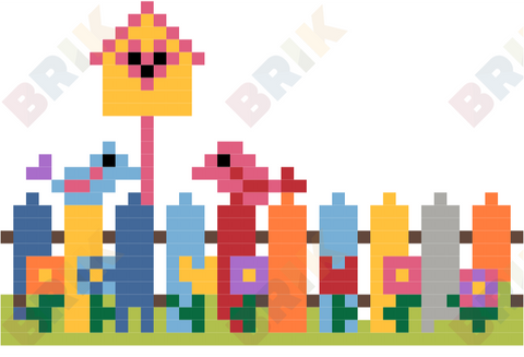 Garden Week Pixel Art