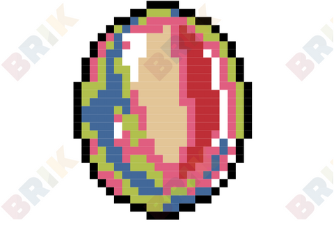 Gemstone Pixel Art