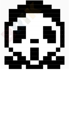 Ghostface Pixel Art