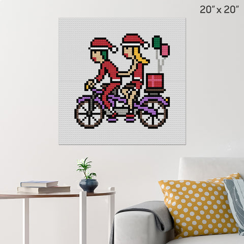 Gift Giving Brick Poster