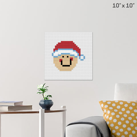 Gingerbread Man Brick Poster