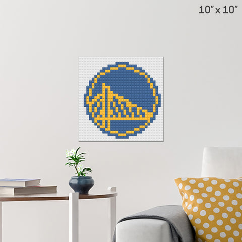 Golden State Warriors Brick Poster