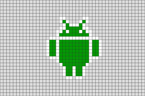 Google Android Pixel Art