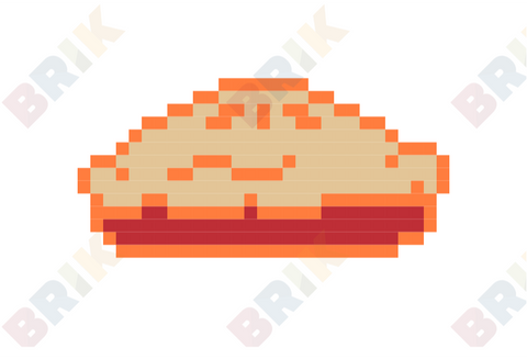 Great American Pie Month Pixel Art