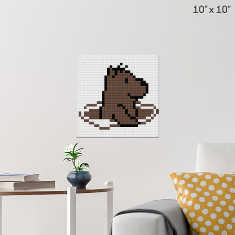 Groundhog Day Brick Poster