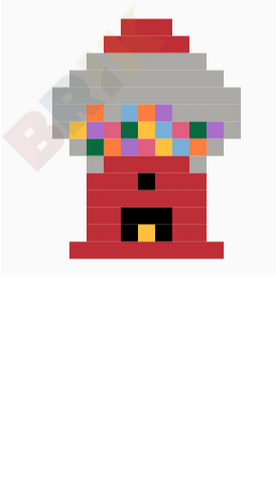 Gumball Machine Pixel Art