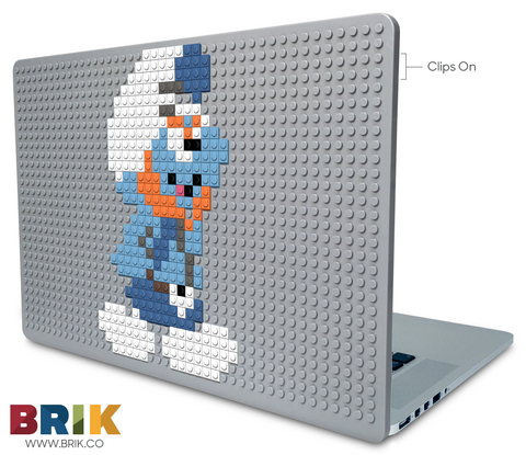 Gutsy Smurf Laptop Case