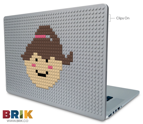 Happy Girl Face Laptop Case