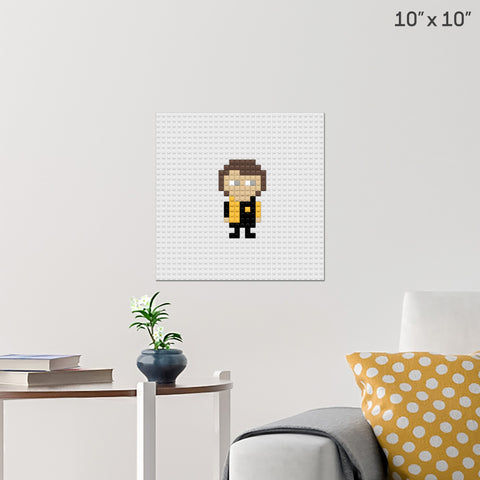 Harry Potter Cedric Diggory Brick Poster